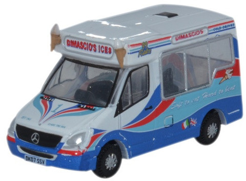 MERCEDES BENZ SPRINTER WHITBY ICE CREAM DIMASCIOS