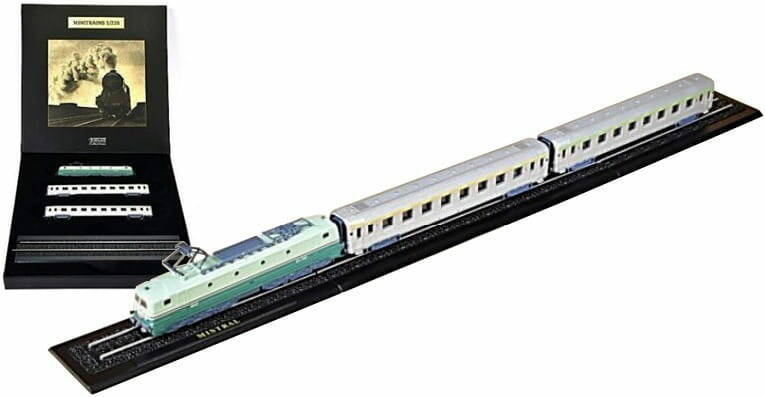 MISTRAL - Z GAUGE - GREAT TRAINS OF THE WORLD