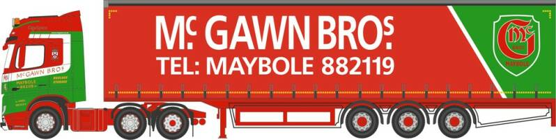 Mercedes Benz ACTROS CURTAINSIDE McGAWWN BROS