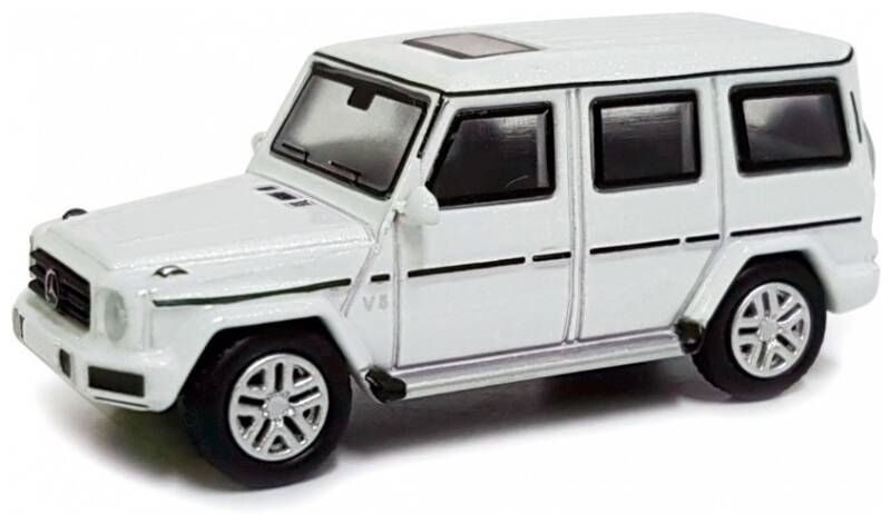 Mercedes Benz G-KLASSE wit