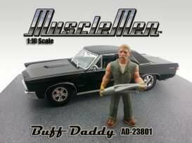 Musclemen *Buff Daddy* (car not included), schaal 1:18.