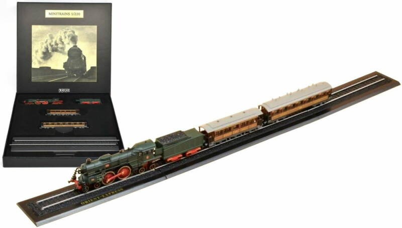 ORIENT EXPRESS - Z GAUGE - GREAT TRAINS OF THE WORLD