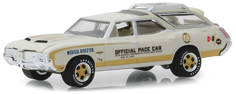 Oldsmobile VISTA CRUISER 56th ANNUAL INDY 500 RACE OLDSMOBILE OFFICAL PACE CAR 1972