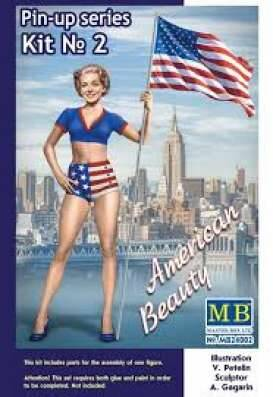 Pin-up series #2 Betty, plastic modelkit