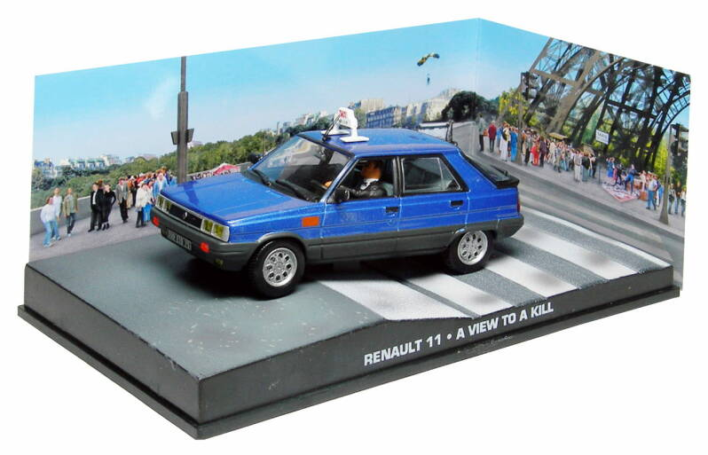 RENAULT 11 JAMES BOND 'A VIEW TO A KILL' 1985