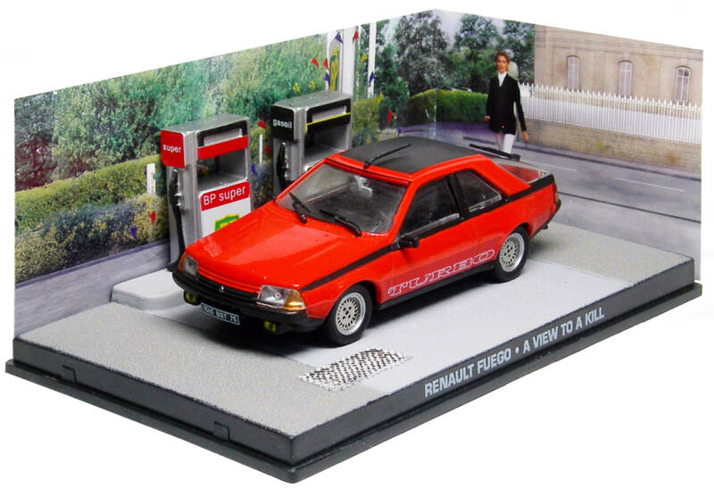 RENAULT FUEGO TURBO JAMES BOND 'A VIEW TO A KILL' 1985