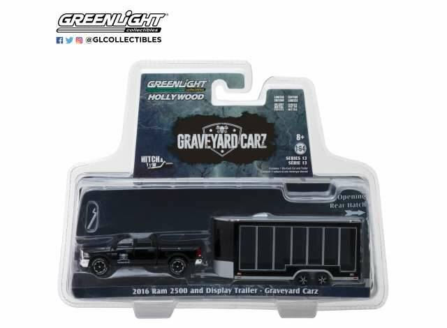 Ram 2500 with Glass Display Trailer *Graveyard Carz (2012-Current TV Series)* *Hitch & Tow Series 13*