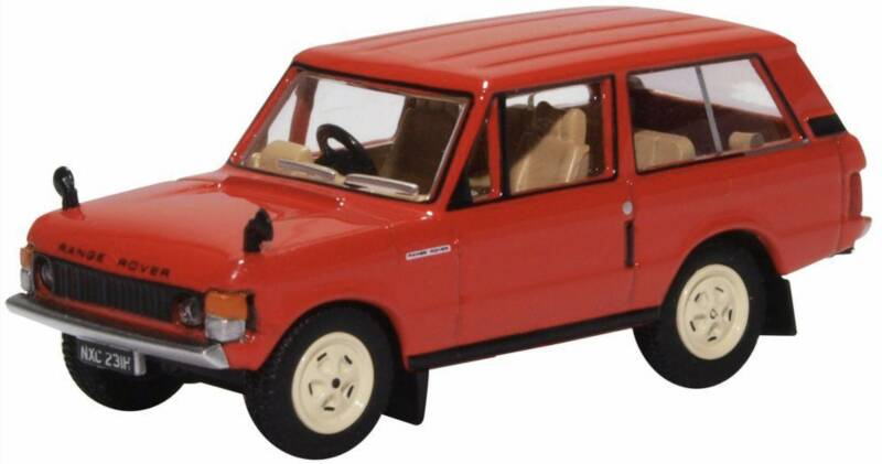 Range Rover CLASSIC rood