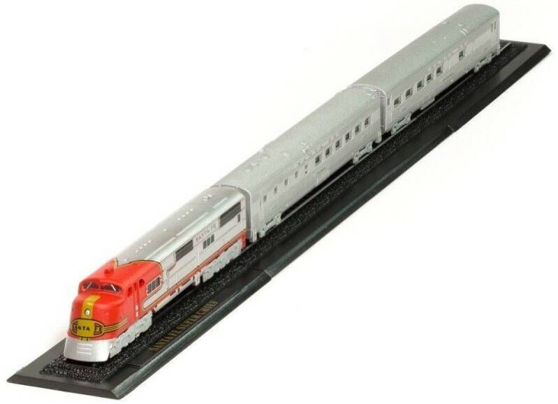 SANTA FE SUPER CHIEF Z GAUGE - GREAT TRAINS OF THE WORLD