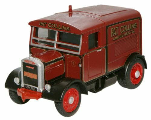 SCAMMELL SHOWTRAC Pat Collins The Major