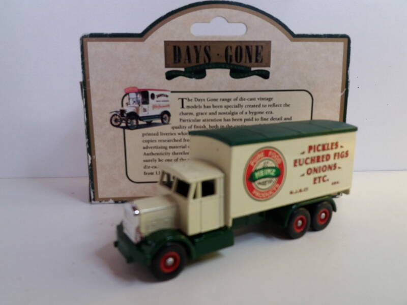 Scammell 6 Wheel Truck Heinz Pickles