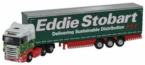 Scania Highline Curtainside Stobart