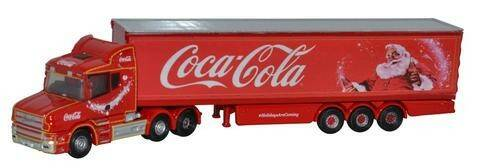 Scania T CAB BOX TRAILER COCA COLA Kerstmis