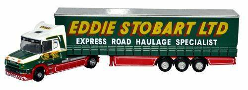 Scania T Cab Curtainside stobart