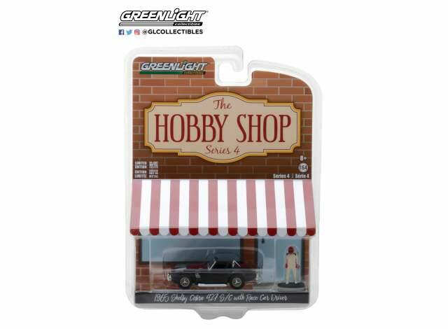 Shelby Cobra with race car driver *The Hobby Shop Series 4*
