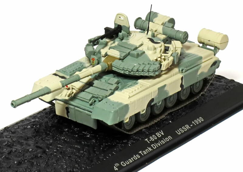 T-80 BV 4th Guards Tank Division (USSR) - 1990