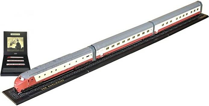 TEE EDELWEISS - Z GAUGE - GREAT TRAINS OF THE WORLD