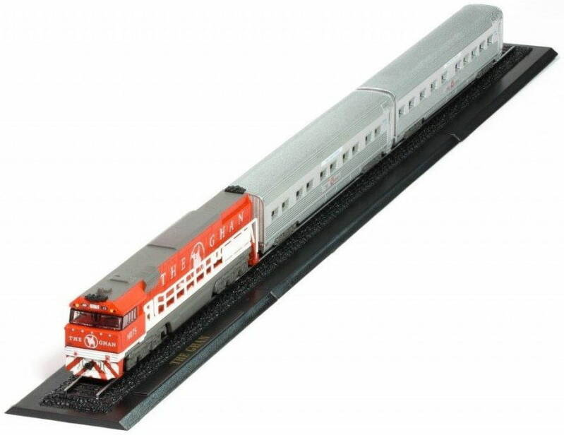THE GHAN Z GAUGE - GREAT TRAINS OF THE WORLD