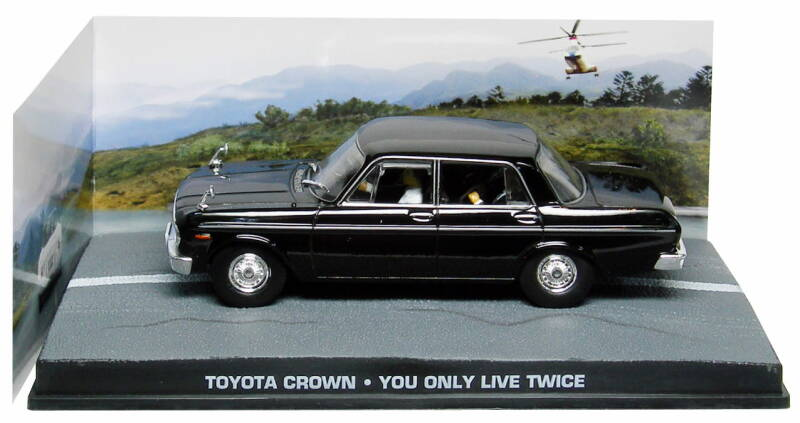 TOYOTA CROWN S40 JAMES BOND YOU ONLY LIVE TWICE
