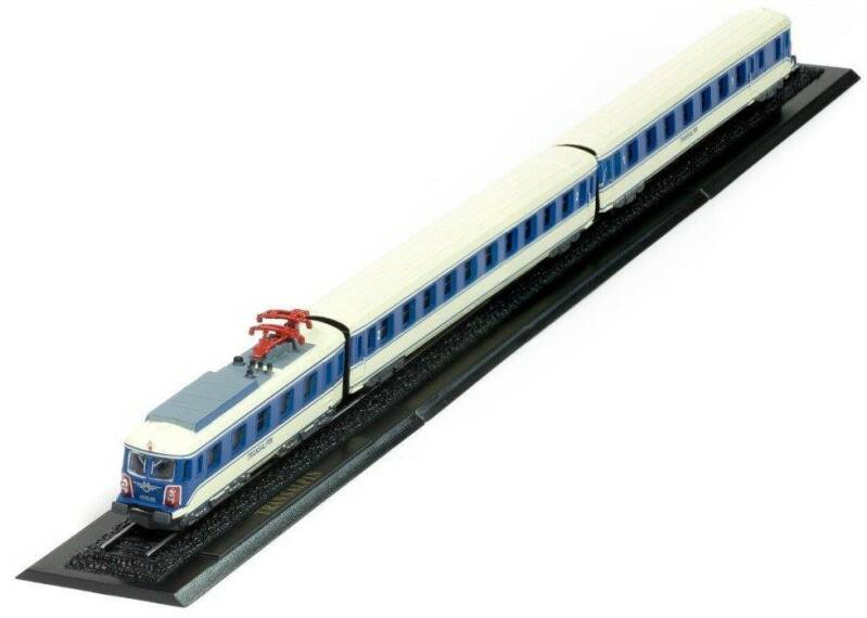TRANSALPIN Z GAUGE - GREAT TRAINS OF THE WORLD