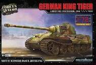 Tiger KING GERMAN (HENSCHEL TURRET) MODEL KITS ARDENNES, DECEMBER 1944
