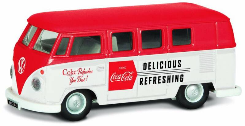 VW CAMPER LATE 1960's 'COCA COLA'