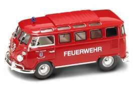 Volkswagen Microbus *Feuerwehr* with closed sunroof *Signature Series*, red