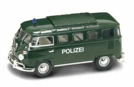 Volkswagen Microbus *Polizei* with closed sunroof *Signature Series*, dark green