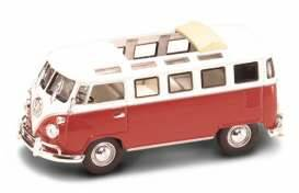 Volkswagen Microbus T1 with open sunroof *Signature Series*, burgundy/white