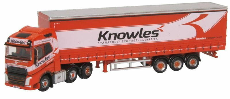 Volvo FH4 CURTAINSIDE KNOWLES