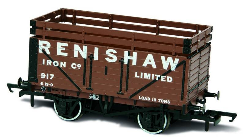 WAGON RENISHAW IRON Co 917 WITH 2 COKE RAILS