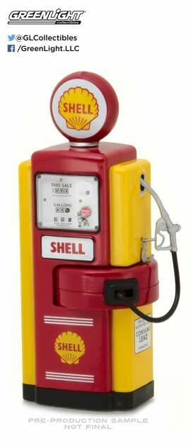 Wayne 100-A Shell Oil Gas Pump *Vintage Gas Pumps Series 1*