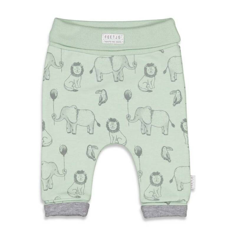 Feetje Broek Animal Friends Mint (52201608)