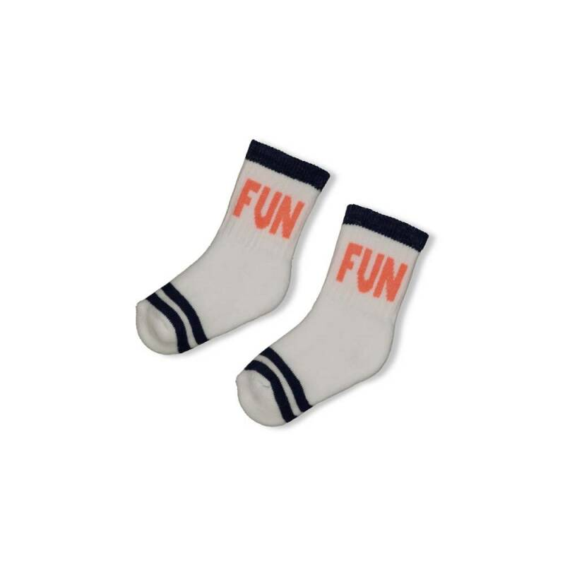 Feetje Sok Here Comes The Fun Wit (50400135)
