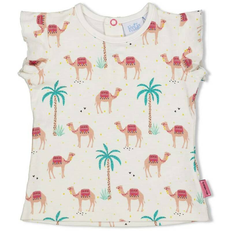 Feetje T-Shirt AOP Little Thing Called Love Offwhite (51700609)