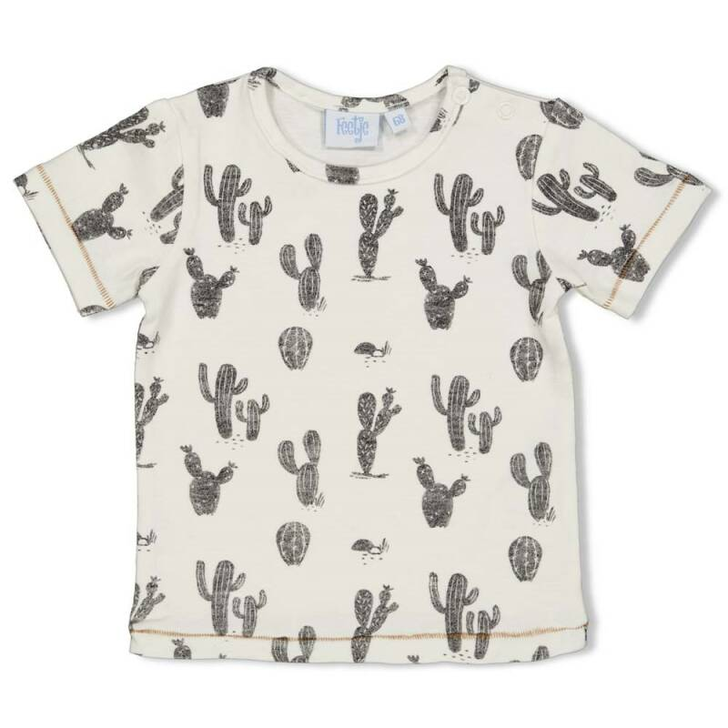 Feetje T-Shirt AOP Looking Sharp Offwhite (51700614)