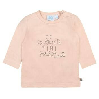 Feetje Shirt Little and Loved Zalm Roze (51601538)