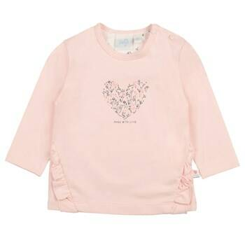 Feetje Shirt Lange Mouw Love Made Me Rose (51601528)