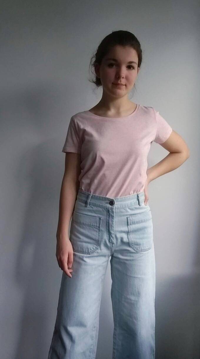 Supersoft heather pink t-shirt