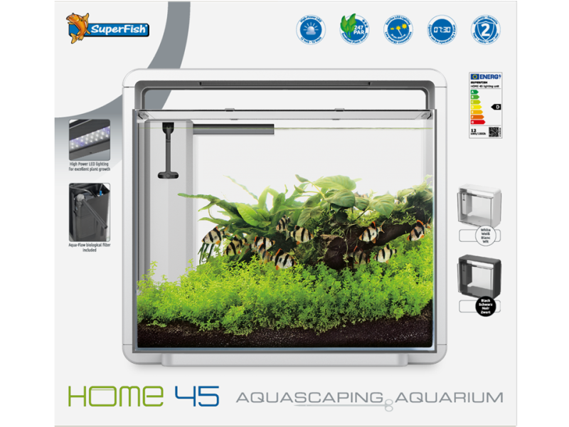 Superfish Home 45 Aquarium Wit
