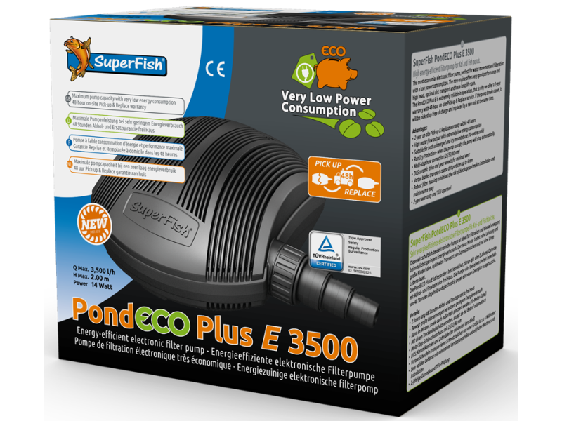 SF Pond Eco plus E 3500-14 W