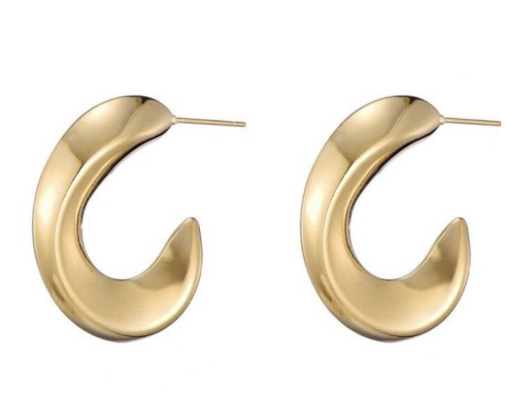 Statement Hoops Oval