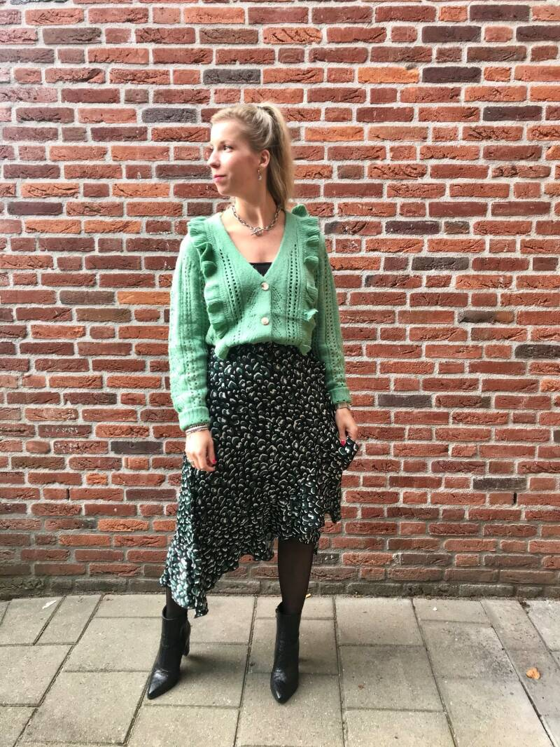 Skirt Fia Green