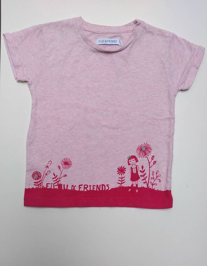 T-shirt  filou and friends 3 jaar