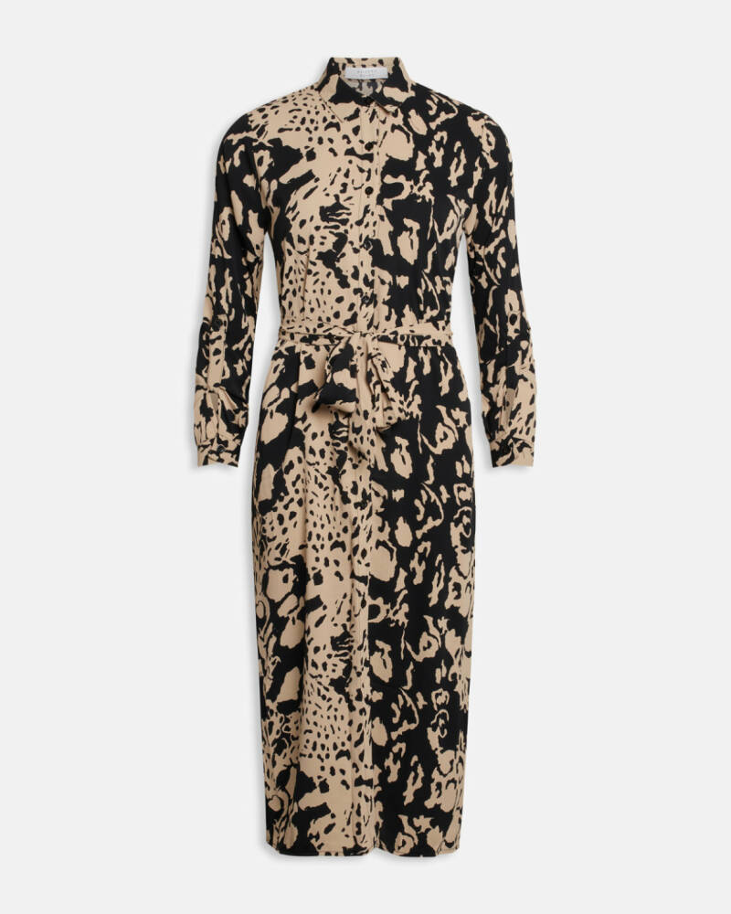 Dress Eron Black/ Beige