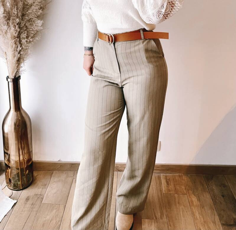 Trousers New York Green