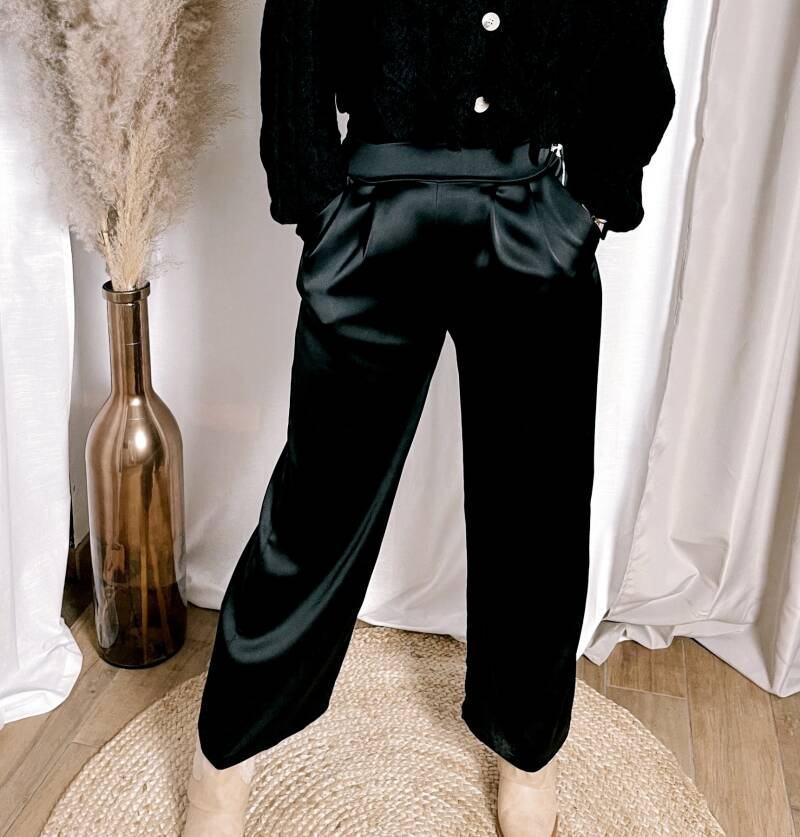 Pantalon Silk Black