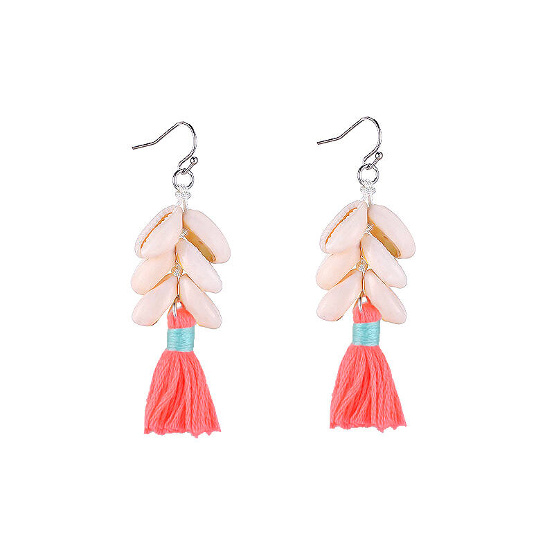 Earrings Happy shells orange