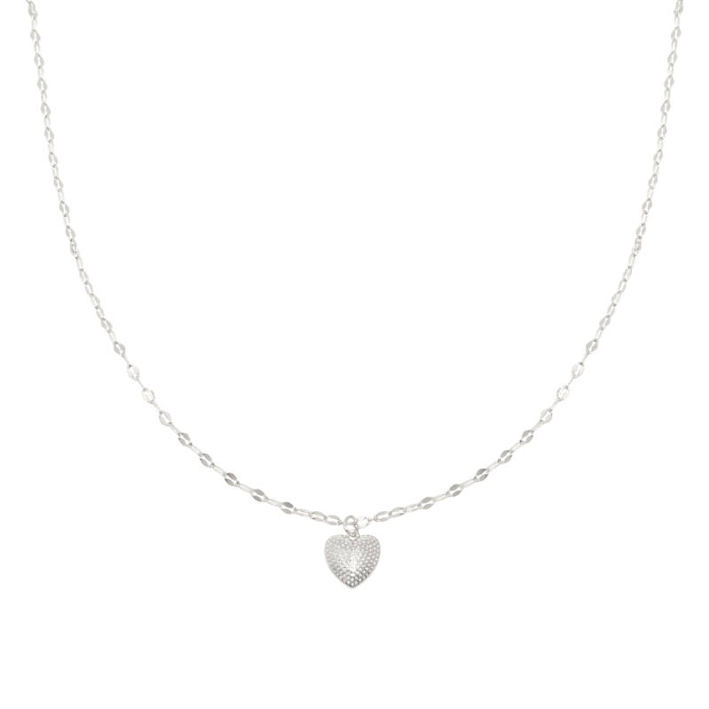 Necklace endless Love Silver