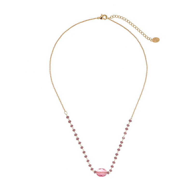 Necklace Sweet Stones Pink